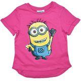 Despicable Me Minion Sequin T-Shirt (Size 6)