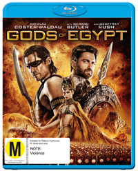 Gods Of Egypt on Blu-ray