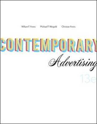 Contemporary Advertising by William F. Arens