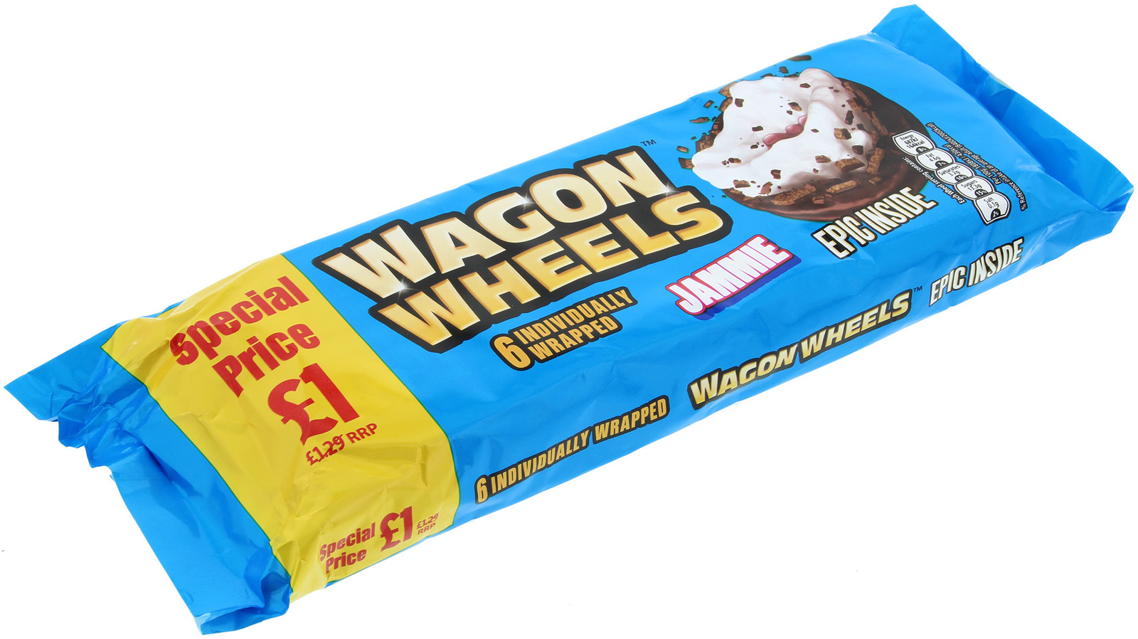 Wagon Wheels Jammie Biscuits 6pk image