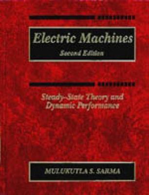 Electric Machines by Mulukutla S Sarma