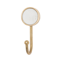 General Eclectic: Marble Hook - White image
