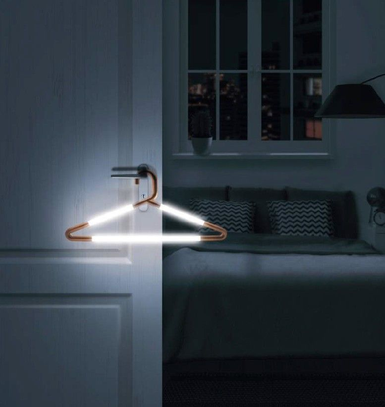Hang Up - Light Up Clothes Hanger image