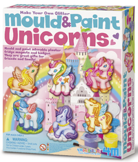 4M: Mould and Paint - Unicorns
