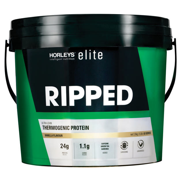 Horleys Ripped Thermogenic Protein - Vanilla (2.5kg)