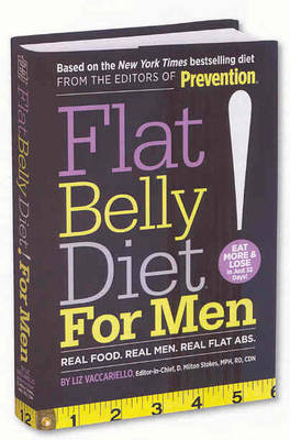 Flat Belly Diet! for Men by Liz Vaccariello image