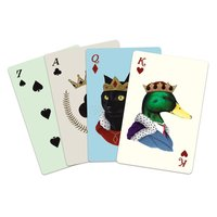 Galison: Playing Cards - Berkley Bestiary Anmial Portraits image