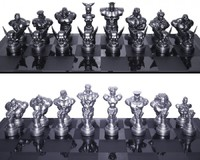 Street Fighter: 25th Anniversary - Chess Set image