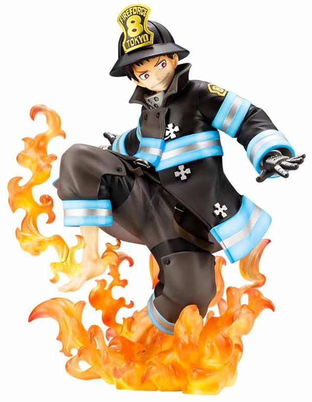Fire Force: Artfx-J: 1/8 Shinra Kusakabe - PVC Figure