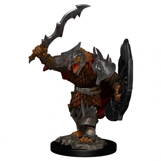 D&D Premium Figures: Dragonborn Male Fighter