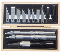Excel Wooden Box Professional Knife Set (16pcs)