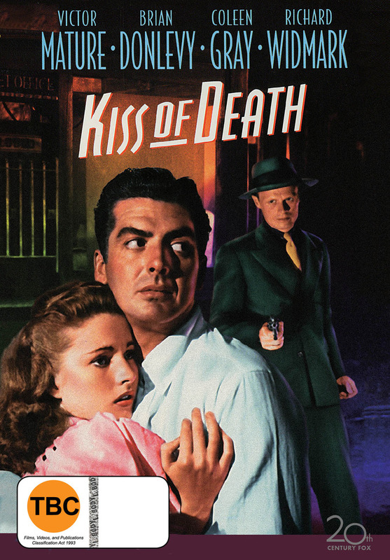 Kiss of Death on DVD