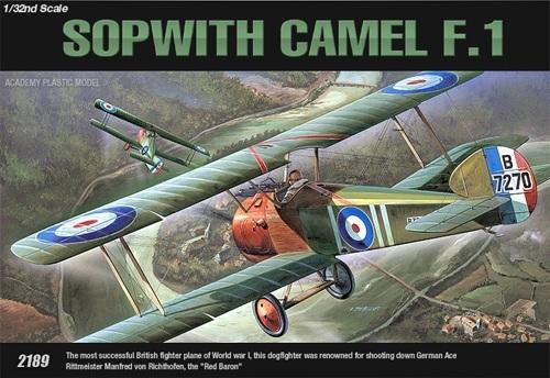 Academy Sopwith Camel F-1 1/32 Model Kit