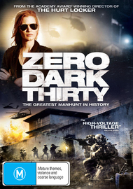 Zero Dark Thirty on DVD