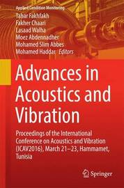 Advances in Acoustics and Vibration