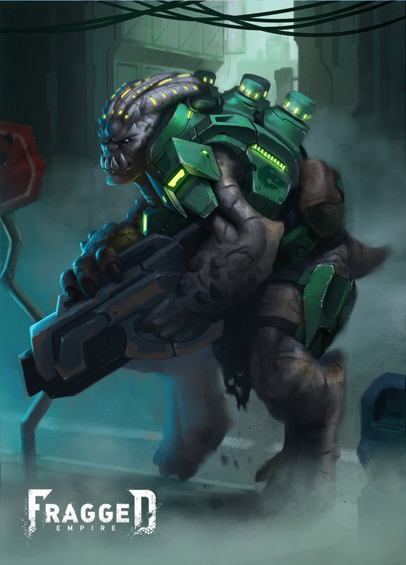 Fragged Empire RPG: Antagonist Archive 1