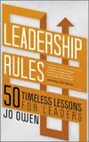 Leadership Rules by Jo Owen
