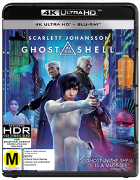Ghost In The Shell on Blu-ray, UHD Blu-ray