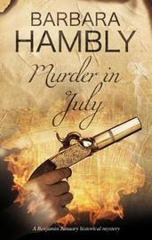Murder in July by Barbara Hambly image