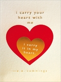 Archivist: Carry Your Heart Foil Greeting Card