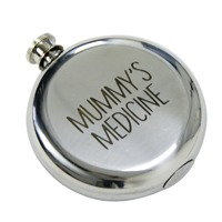Hip Flask (Mummy's Medicine)