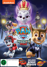 Paw Patrol: Mission Paw on DVD
