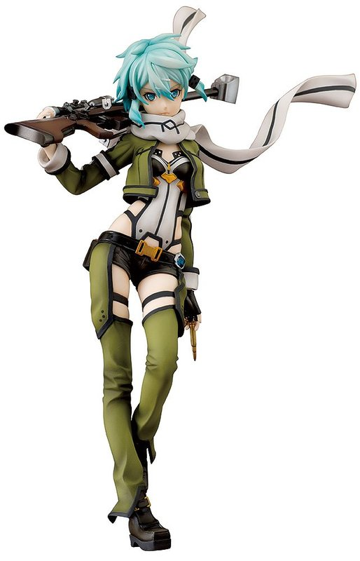 Sword Art Online: 1/7 Sinon - PVC Figure