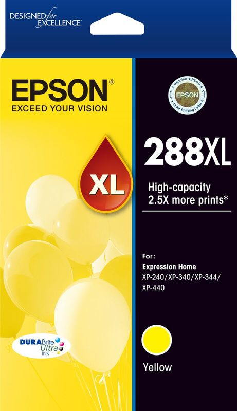 Epson 288XL Yellow Durabrite Ink