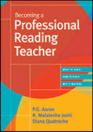 Becoming a Professional Reading Teacher by P.G. Aaron image
