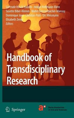 Handbook of Transdisciplinary Research image