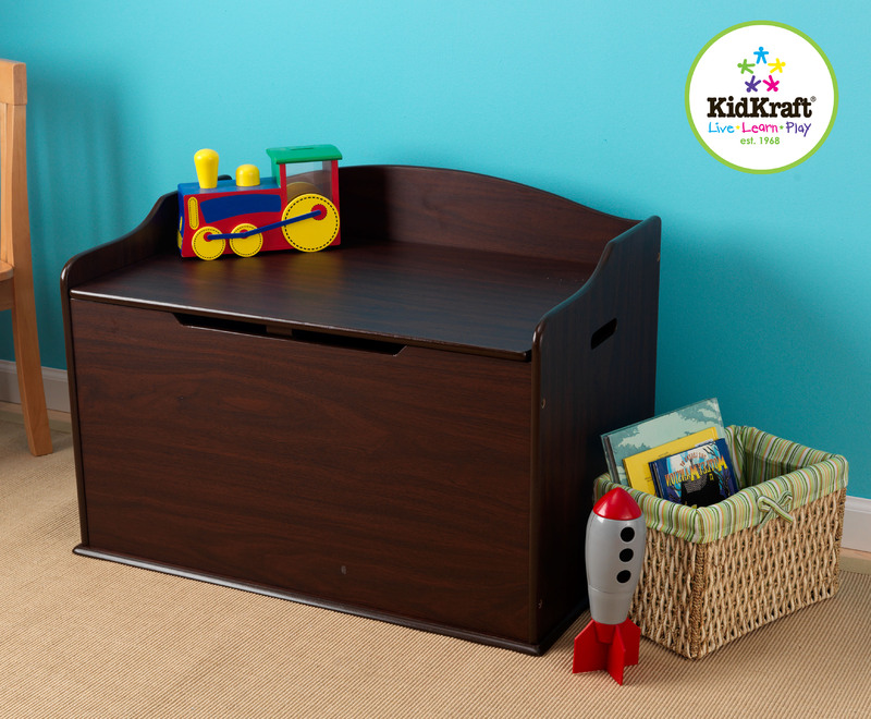 KidKraft - Austin Toy Box Espresso image