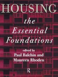 Housing: The Essential Foundations image