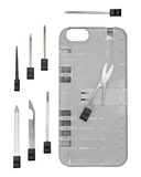 in1Case: IN1 Utility Case for iPhone 6 - Clear/Black