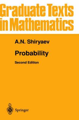 Probability: v. 95 by Albert N. Shiryaev image