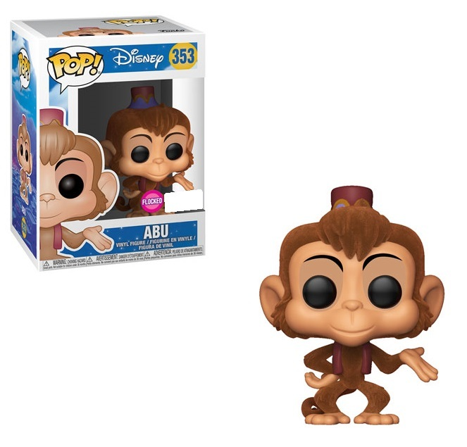 Aladdin - Abu (Flocked) Pop! Vinyl Figure image