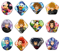 Kingdom Hearts: Gem Cut - Can Badge (Blind Bag)