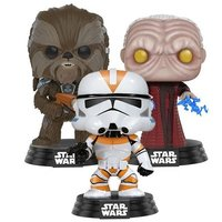 Star Wars: Clone Wars Collection - Pop! Vinyl 3-Pack