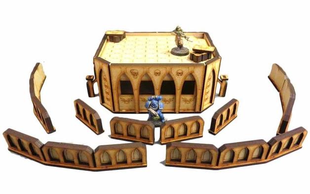 TTCombat: Tabletop Scenics - Gothic Bunker Mk II