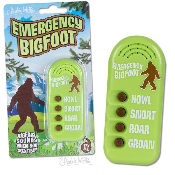 Archie McPhee: Emergency Bigfoot - Noisemaker