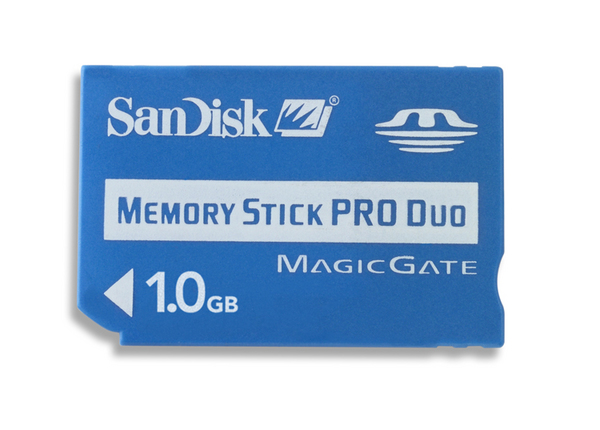 SanDisk 1GB MS Pro Duo Memory Card image