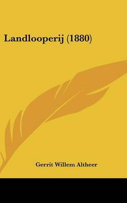 Landlooperij (1880) by Gerrit Willem Altheer image