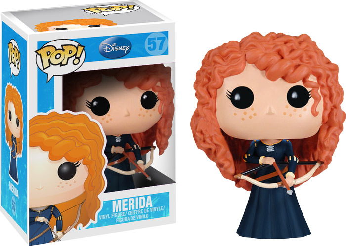 Disney Princess Brave Merida Pop! Vinyl Figure image