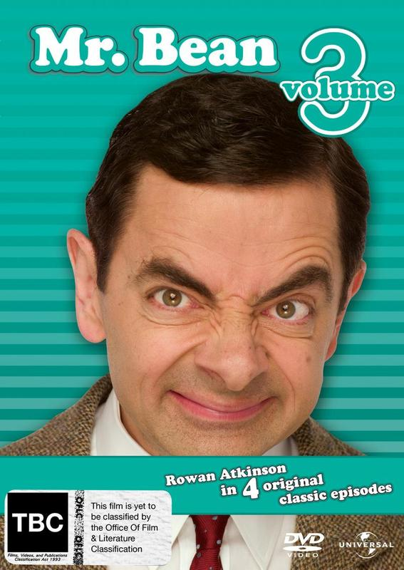 Mr. Bean - Volume 3 on DVD