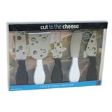 Cut to the Cheese: Black and White