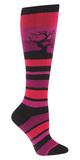 Women's Sunset Tree Knee High Socks
