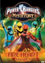 Power Rangers - Mystic Force: Vol. 3 - Fire Heart on DVD