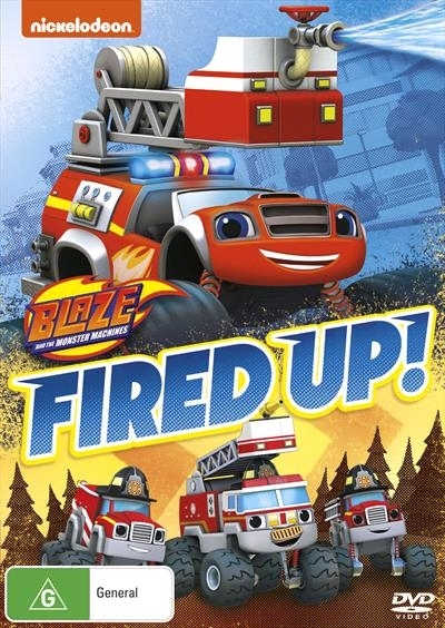 Blaze And The Monster Machines: Fired Up! on DVD image