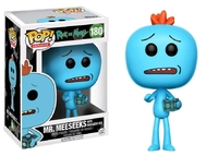 Rick & Morty – Mr. Meeseeks (With Meeseeks Box) Pop! Vinyl Figure