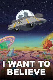Rick And Morty: I Want To Believe - Maxi Poster (655)