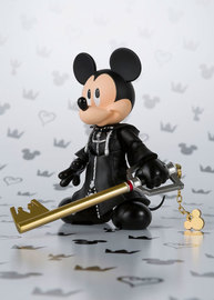 Kingdom Hearts II: S.H.Figuarts - King Mickey Figure